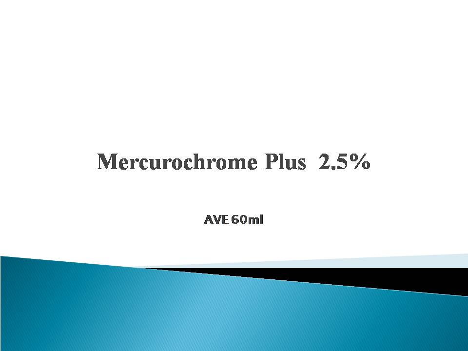 2% Mercurochrome